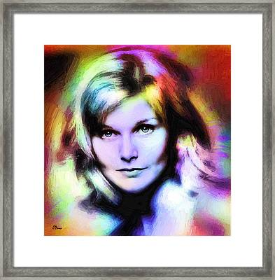 Carol Framed Print by Luis Blanco