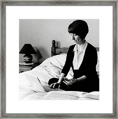 Carole Mundell Framed Print by Lucinda Douglas-menzies