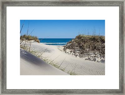 Framed Print featuring the photograph Carolina Blue by Gregg Southard