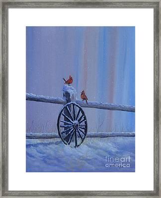 Carolina Cardinals Framed Print