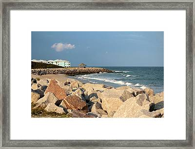 Framed Print featuring the photograph Carolina Coast by Cynthia Guinn
