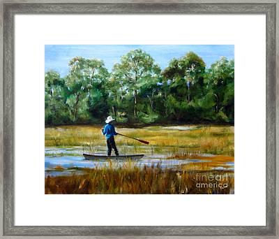 Carolina Cove Framed Print