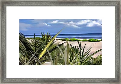 Carolina Dunes Framed Print