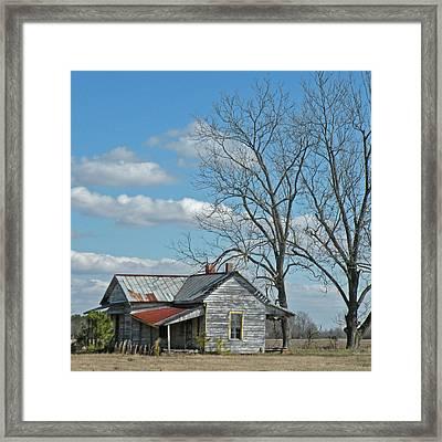 Carolina Farm House Framed Print