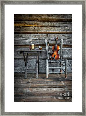Carolina Fiddl'n Framed Print