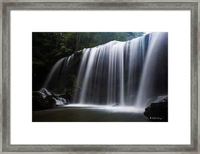 Carolina Flow Framed Print by Bill Cantey