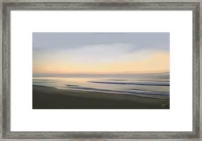 Carolina Morning Glory Framed Print