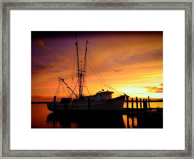 Carolina Morning Framed Print