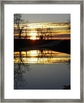 Carolina Sunrise Framed Print