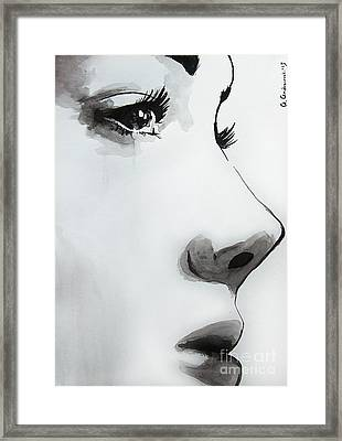 Caroline Framed Print