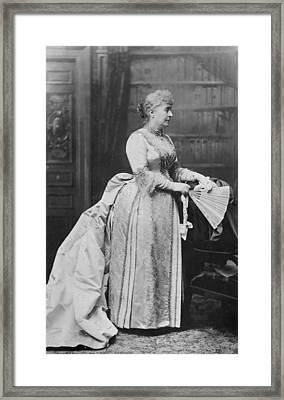 Caroline Lavinia Harrison (1832-1892) Framed Print
