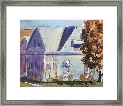 Carol's House Framed Print