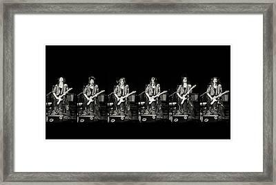 Framed Print featuring the photograph Carolyn Wonderland Rockin' by Darryl Dalton