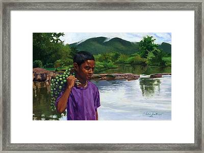 Caroni Chennette Framed Print by Colin Bootman