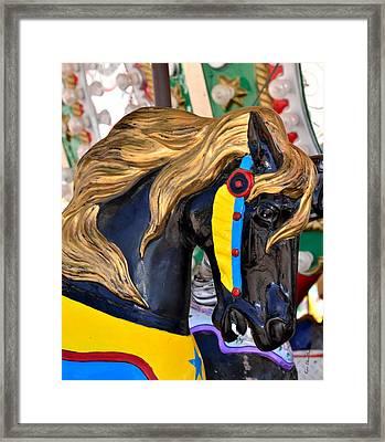 Carousal Horses - 2 Framed Print