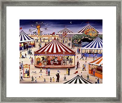 Carousel 90 Framed Print