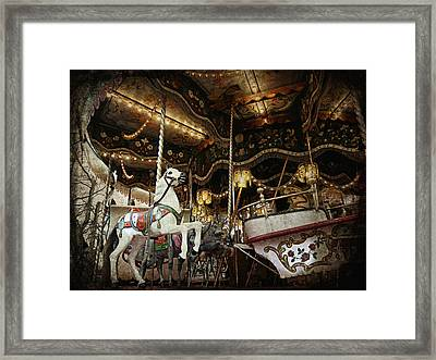 Framed Print featuring the photograph Carousel by Barbara Orenya