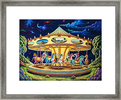 Carousel Dreams 3 Framed Print by Andy Russell
