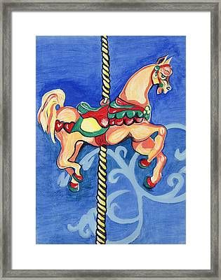 Carousel Dreams Framed Print