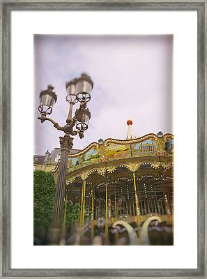 Carousel Dreams Framed Print