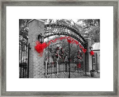 Carousel Gardens - New Orleans City Park Framed Print by Deborah Lacoste