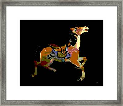 Carousel House Framed Print by Charles Shoup