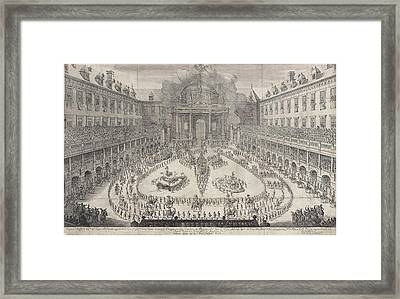 Carousel In The Vienna Hofburg, Austria, Jan Van Ossenbeeck Framed Print by Jan Van Ossenbeeck