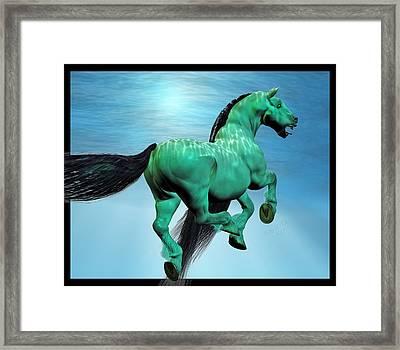 Carousel Iv Framed Print by Betsy Knapp