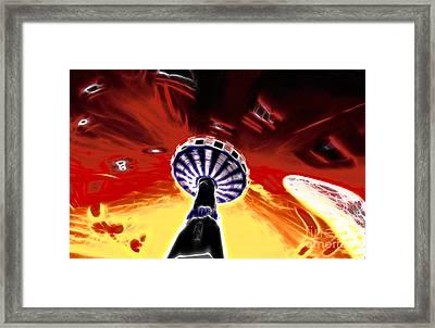 Carousel Framed Print by Lars Tuchel