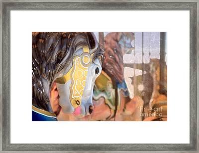Carousel Life Framed Print