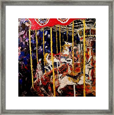Carousel  Main Attraction  Framed Print by Mark Moore