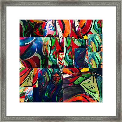 Carousel Framed Print by Shawnic Coles