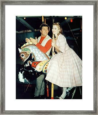 Carousel  Framed Print by Silver Screen