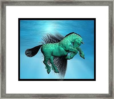 Carousel X Framed Print by Betsy Knapp