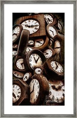 Carpe Diem - Time For Everyone Framed Print