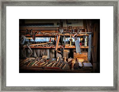 Carpenter - The Workman's Bench Framed Print