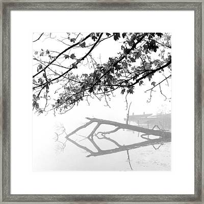 Carpenter Lake Morning Framed Print by Wendell Thompson