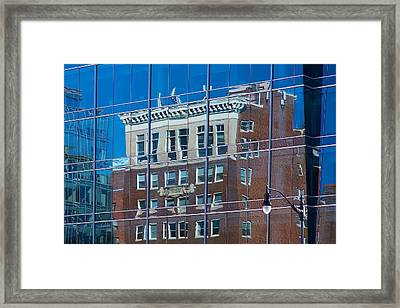 Carpenters Building Framed Print