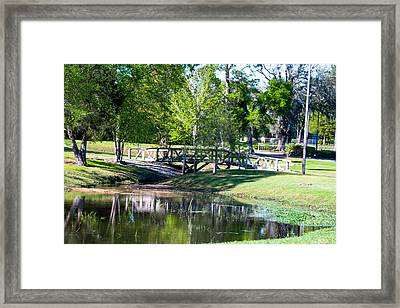 Carpenters Park 3 Framed Print