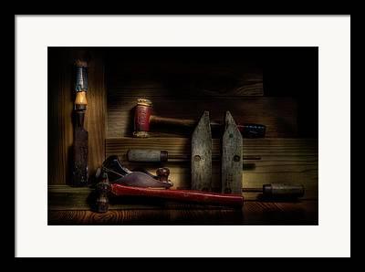 Woodworking Art Framed Prints