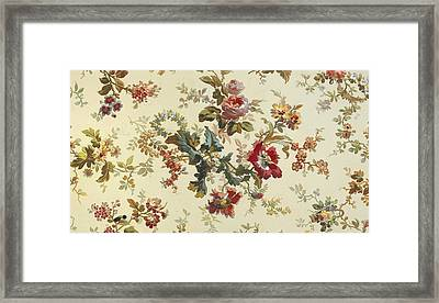 Carpet Design Framed Print by English School