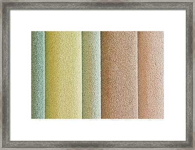 Carpets Framed Print by Tom Gowanlock
