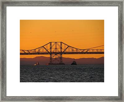 Carquinez Bridge Framed Print