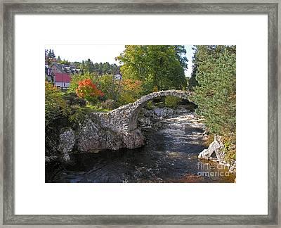 Carrbridge Autumn Framed Print