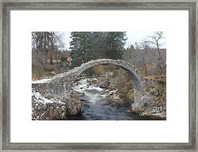 Carrbridge - Scotland Framed Print