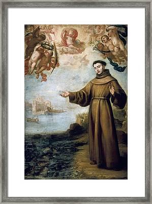 Carre�o De Miranda, Juan 1614-1685 Framed Print by Everett