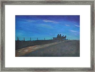 Carreta  Framed Print by Asher  Topel