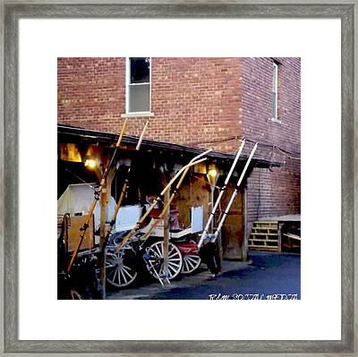 Carriage House  Framed Print by Marvin Washington