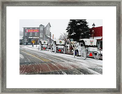 Carriage Ride Framed Print