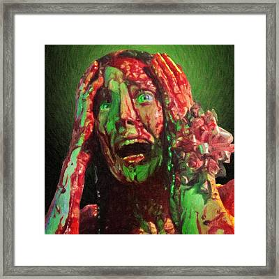 Carrie Framed Print by Taylan Apukovska